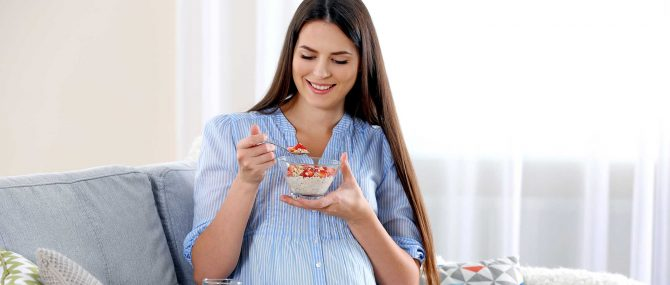 Diet to follow during pregnancy